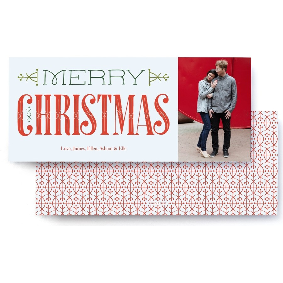A Very Merry Christmas Card