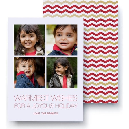 Warmest Wishes Foil Card