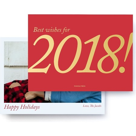 Best Wishes Foil Card Front