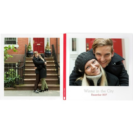 Petite Layflat Photo Book - Front & Back