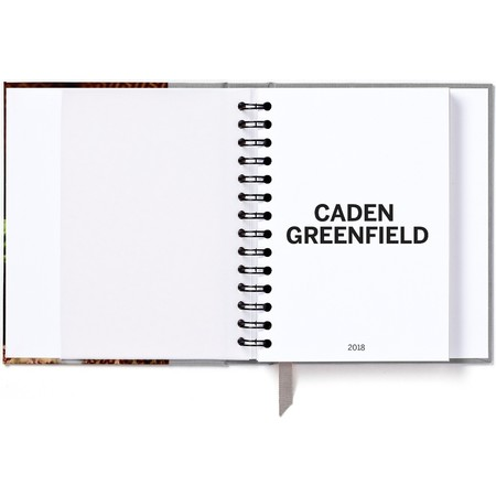 Hardcover Planner Gray Title
