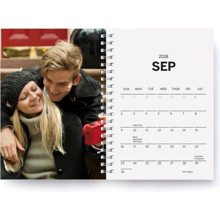 Softcover Planner Gray Month