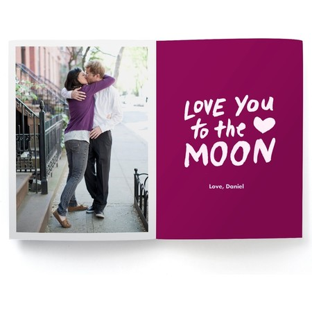 Kiss To the Moon Photo Card Detail