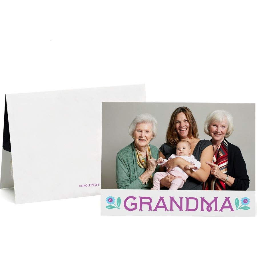 Grandma Mothers Day Photo Card