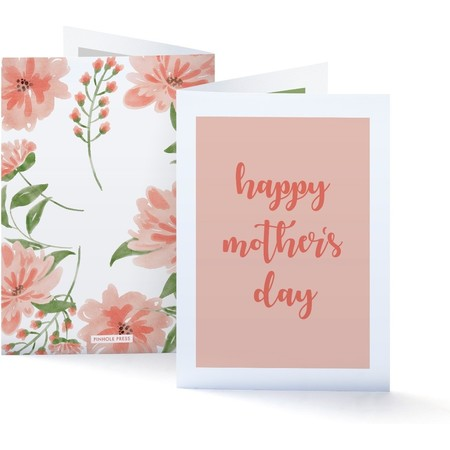Flowers Mothers Day Photo Card