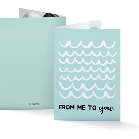Waves Mothers Day Photo Card
