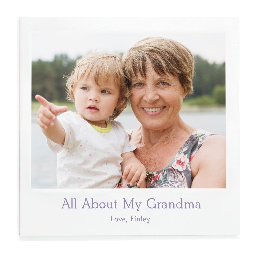 All About My Grandma Photo Book
