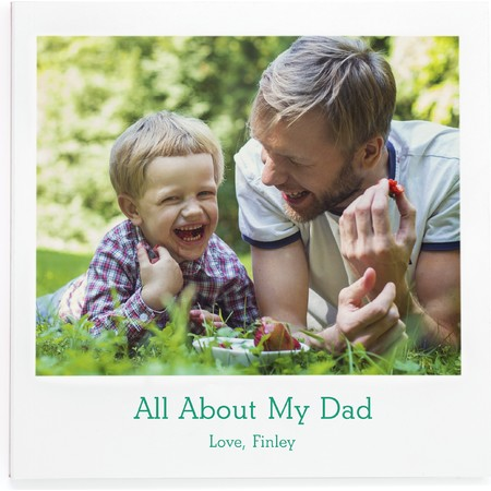 All About My Dad Photo Book
