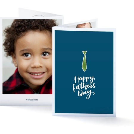 Coloring Father's Day Photo Card