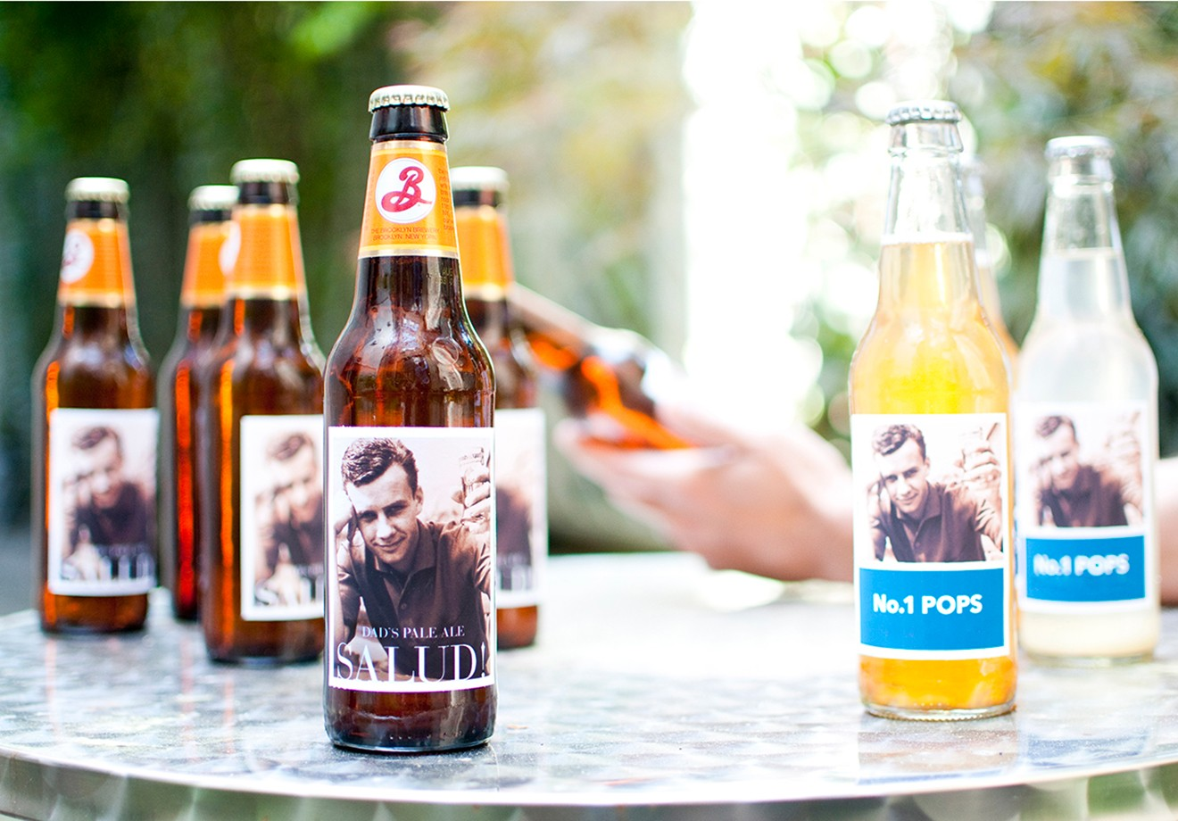 Photo Beer Labels for Dad