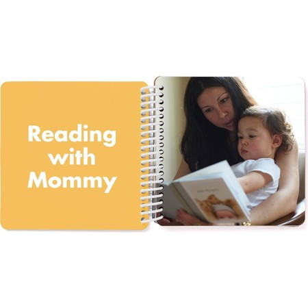 Mommy & Me Board Book - Yellow Spread