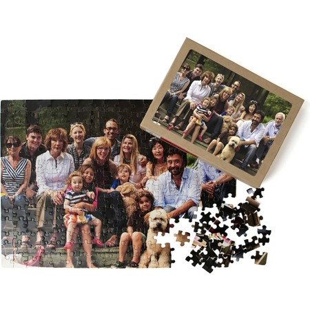 252 Piece Puzzle and Box - Horizontal Photo