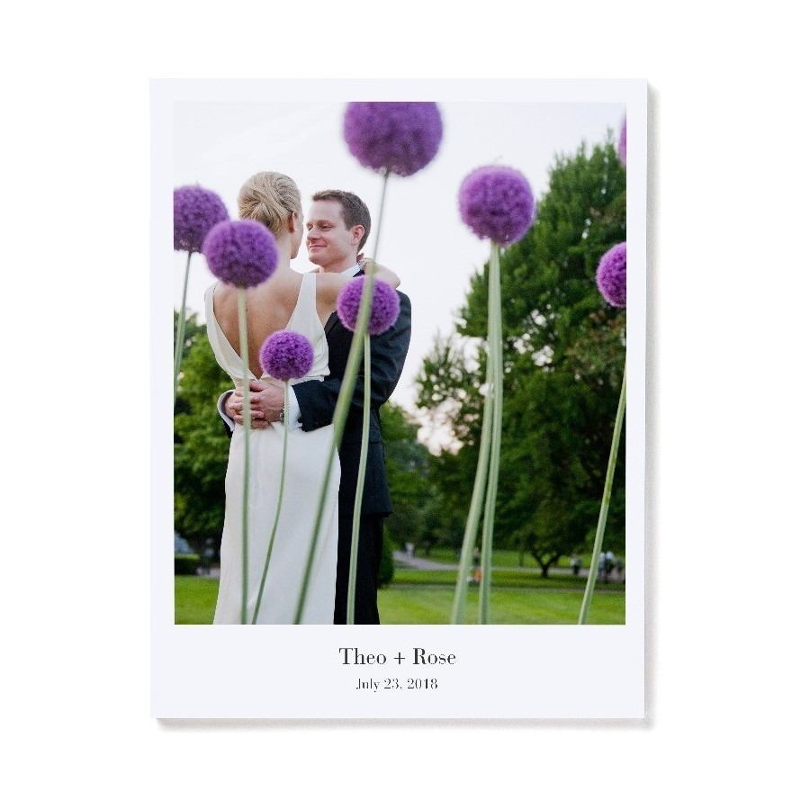 Softcover Portrait Layflat Photo Book Optional Cover Design