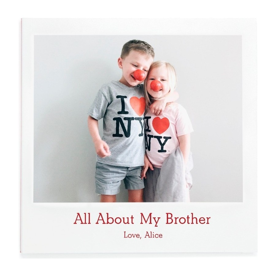 All About My Brother Cover
