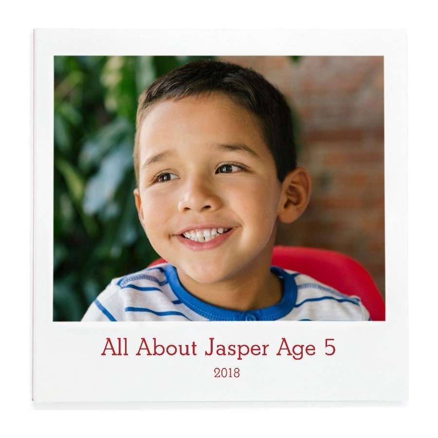 All About Me Photo Book Cover