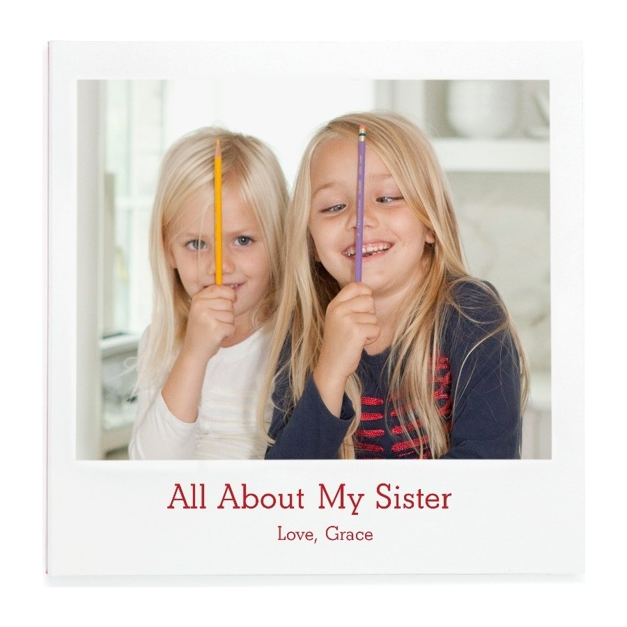 All About My Sister Photo Book Cover