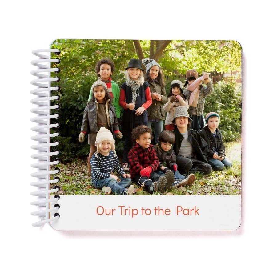 personalized story board book with photos pinhole press