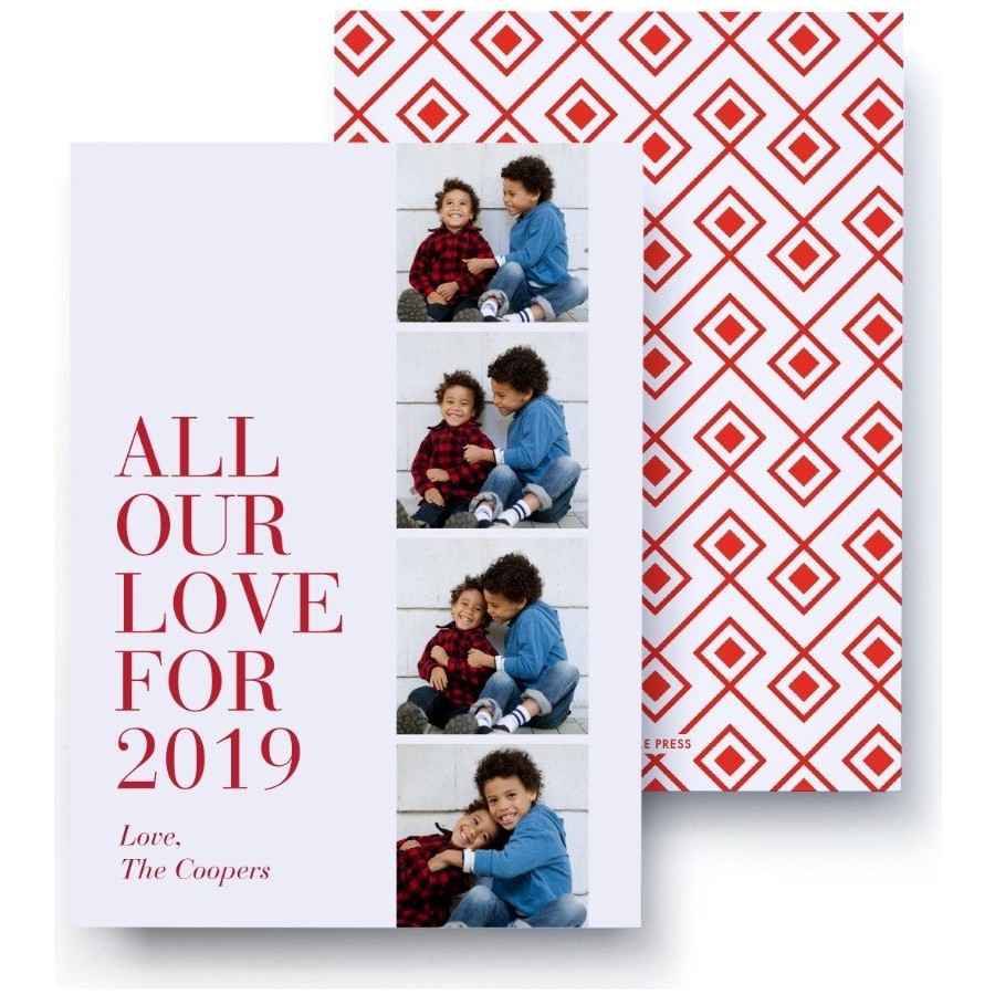 All our love for 2019 Holiday Card