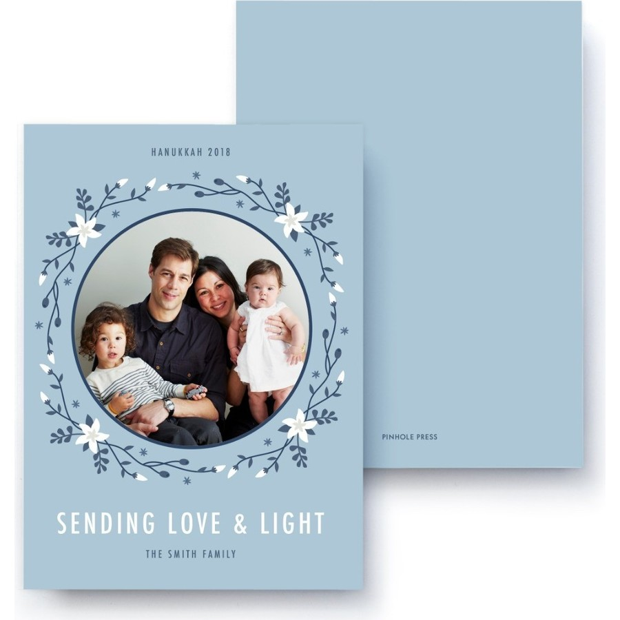 Sending Love & Light Hanukkah Card