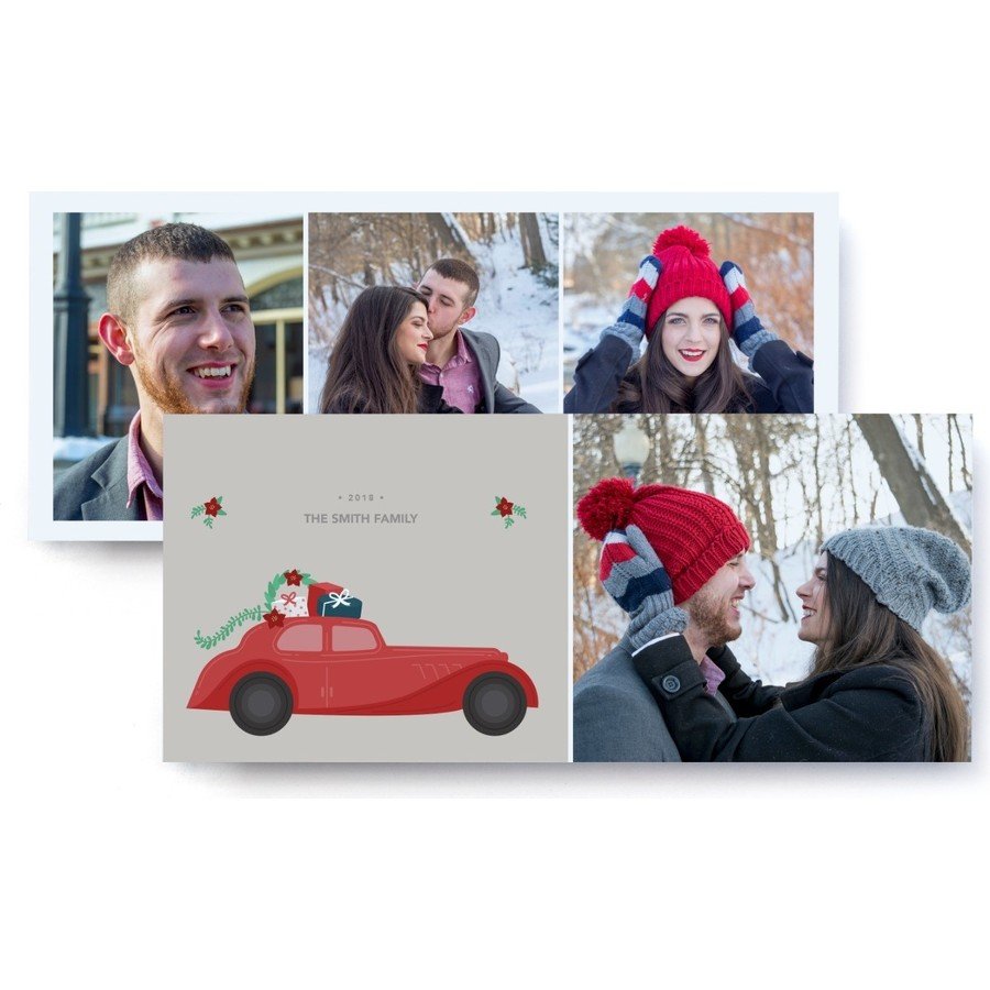 Holiday Card Photo Card, Front Detail