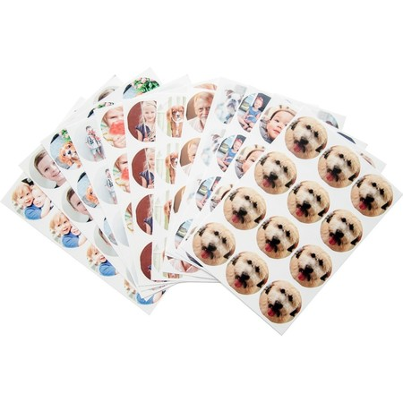 12 Sheets of Photo Stickers