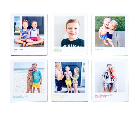 Polaroid Photo Magnets, Set of 6