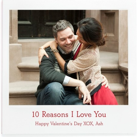 '10 Reasons I Love You' Photo Book Cover