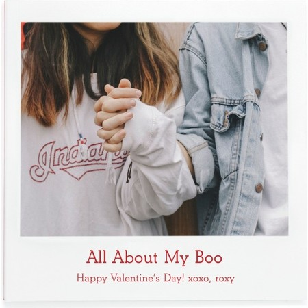 'All About Our Love' Photo Book