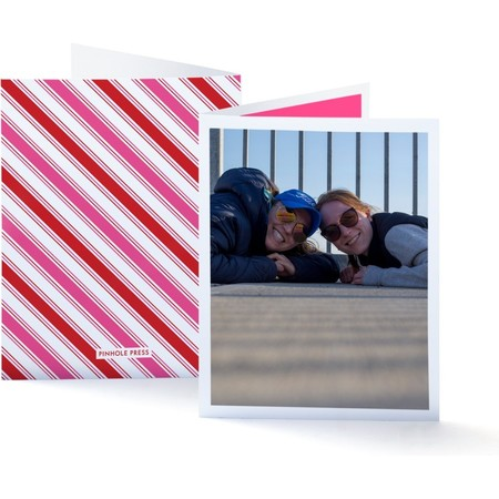 Galentine's Day Gift Box Photo Greeting Card