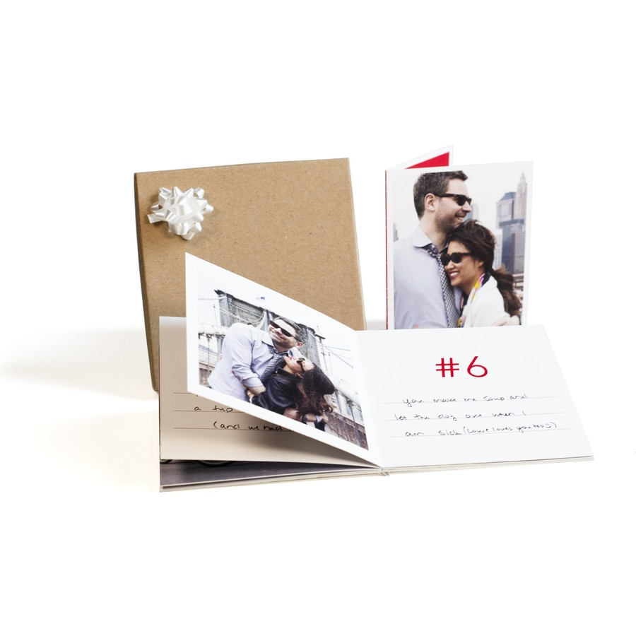 '10 Reasons I Love You' Photo Book Gift Box for Valentine's Day
