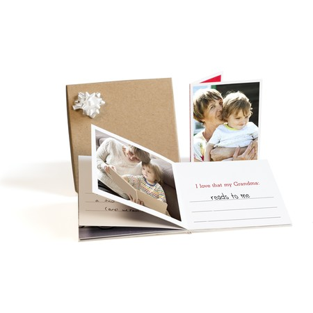 Valentine's Day Photo Book Gift Box for Grandma