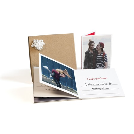 Valentine's Day Photo Book Gift Box