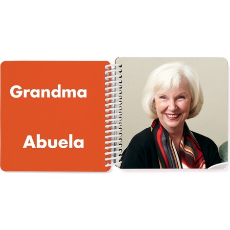 Bilingual Board Book for Kids, Spanish Grandma