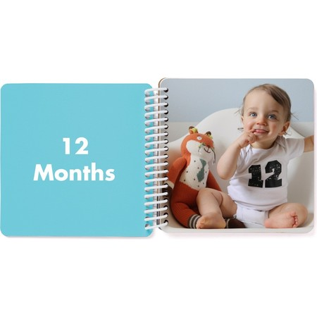 First Year Board Book for Kids, 12 Months Page