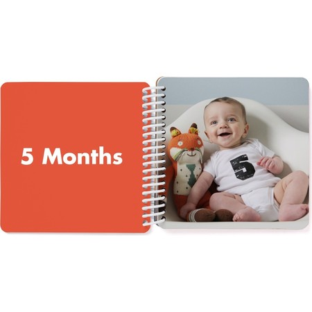 First Year Board Book for Kids, 5 Months Page