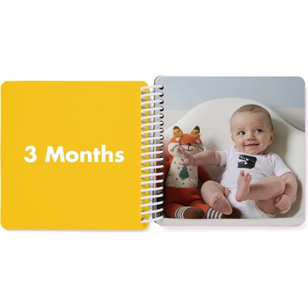 First Year Board Book for Kids, 3 Months Page