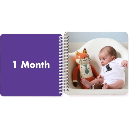 First Year Board Book for Kids, 1 Month Page