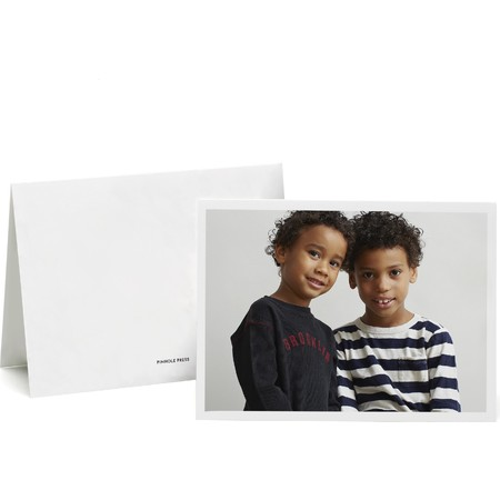 Multi-Photo Minimalist Greeting Card, Front & Back