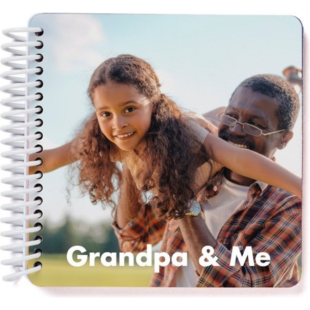 Grandpa & Me Board Book, Cover Detail