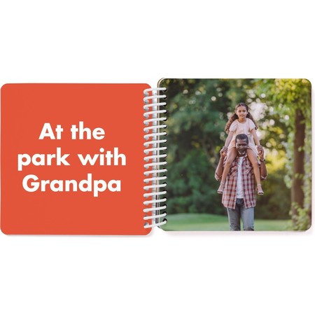 Grandpa & Me Board Book, Red Page