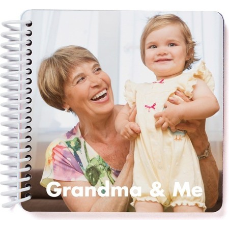 Grandma & Me Board Book, Cover Detail