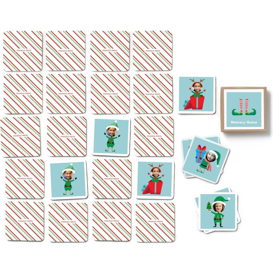 Holiday Elf Photo Memory Game