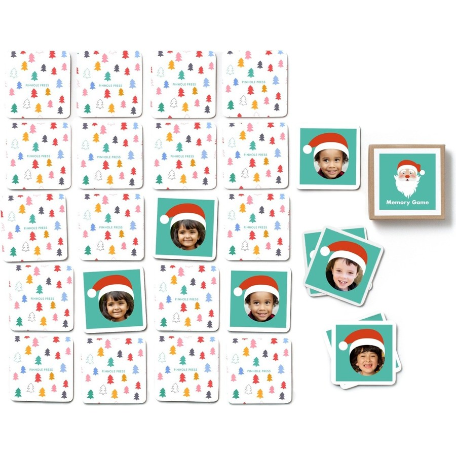 Santa Hat Photo Memory Game