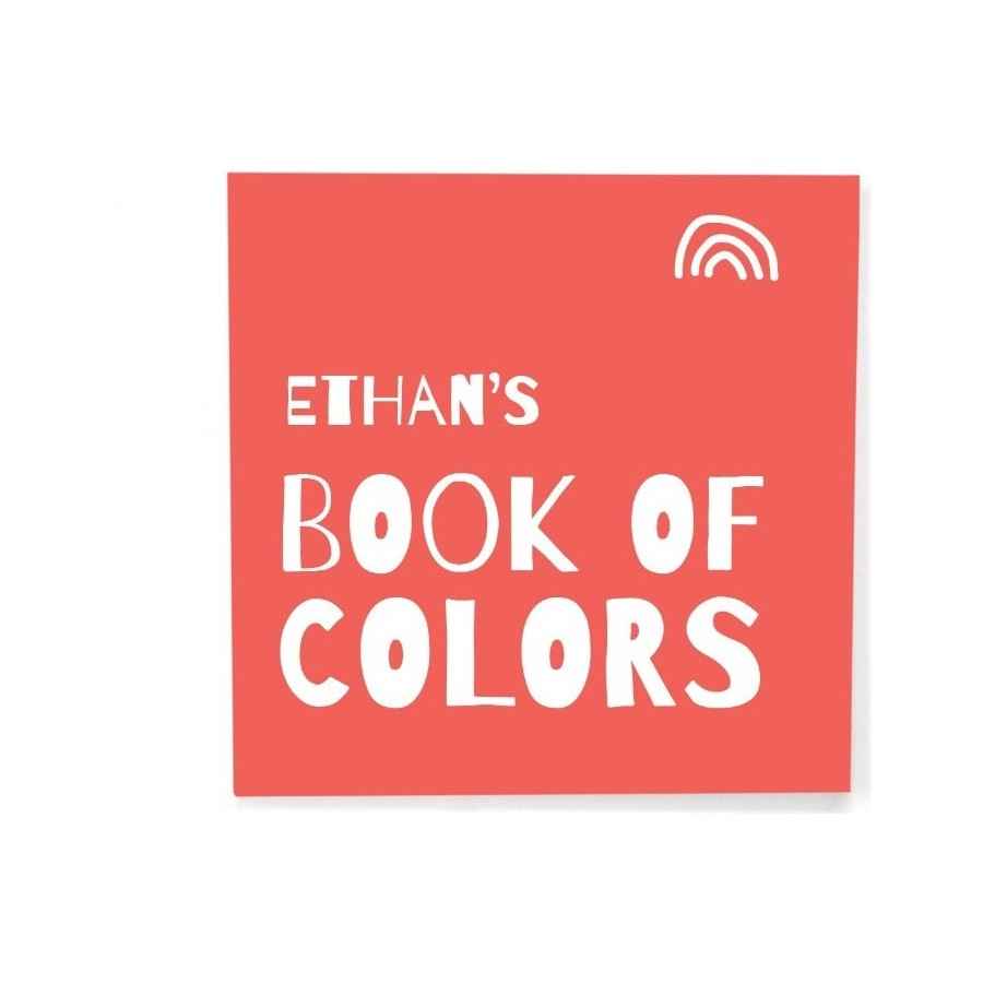 Custom Itty Bitty Book of Colors, Cover