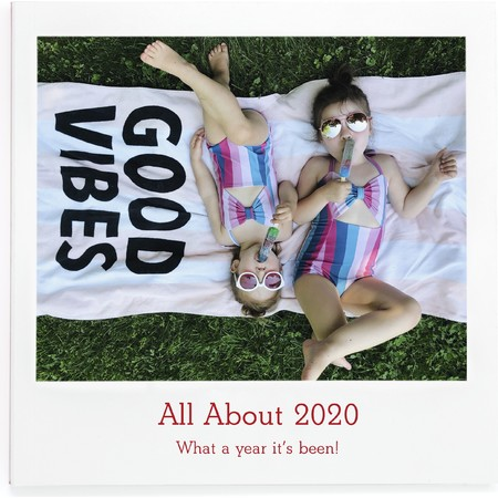 All About 2020 Fill in Photo Book, Cover