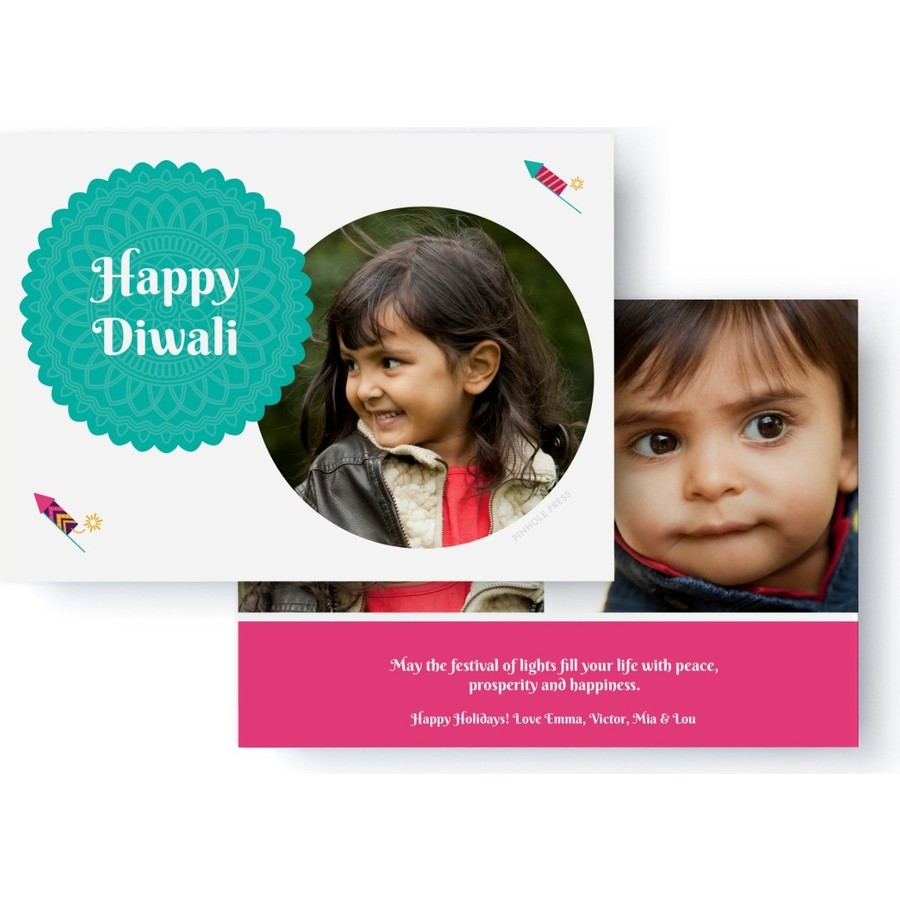 Happy Diwali Photo Card