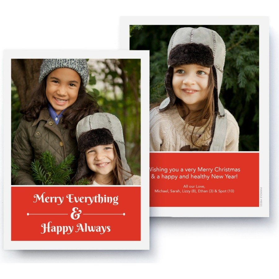 Merry Everything Happy Always Card
