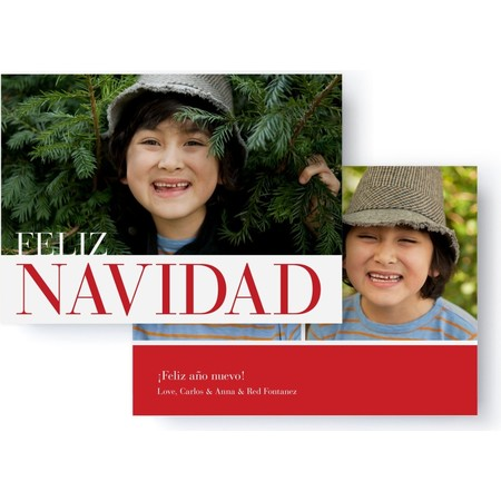 Feliz Navidad Holiday Photo Card