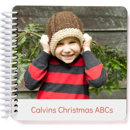 Custom Christmas ABC Photo Book, Cover