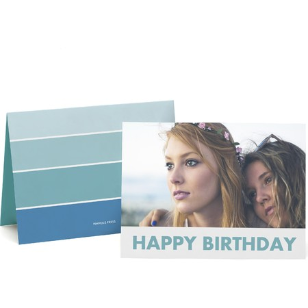 Ombre Happy Birthday Card